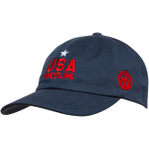 Star USA Low Profile Hat (Navy,Red,Age,Adult) Navy Red main